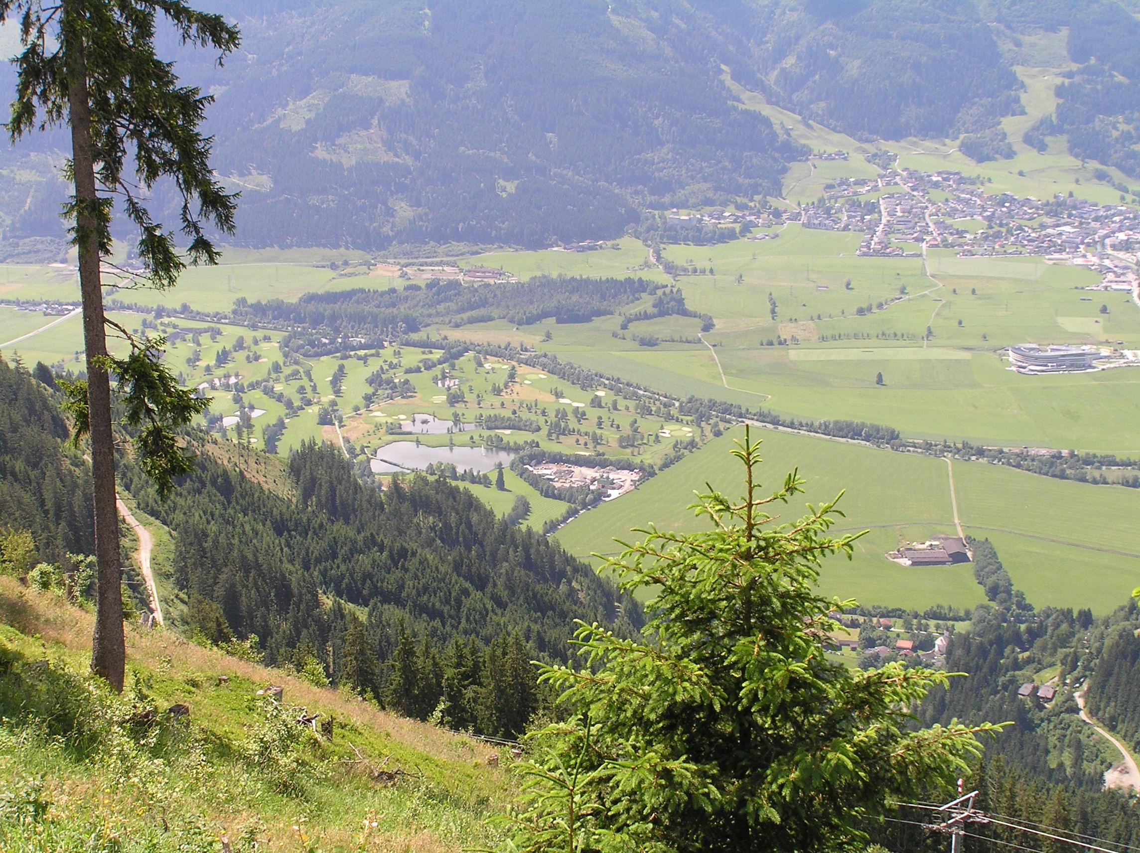 Golf Rakousko Zell