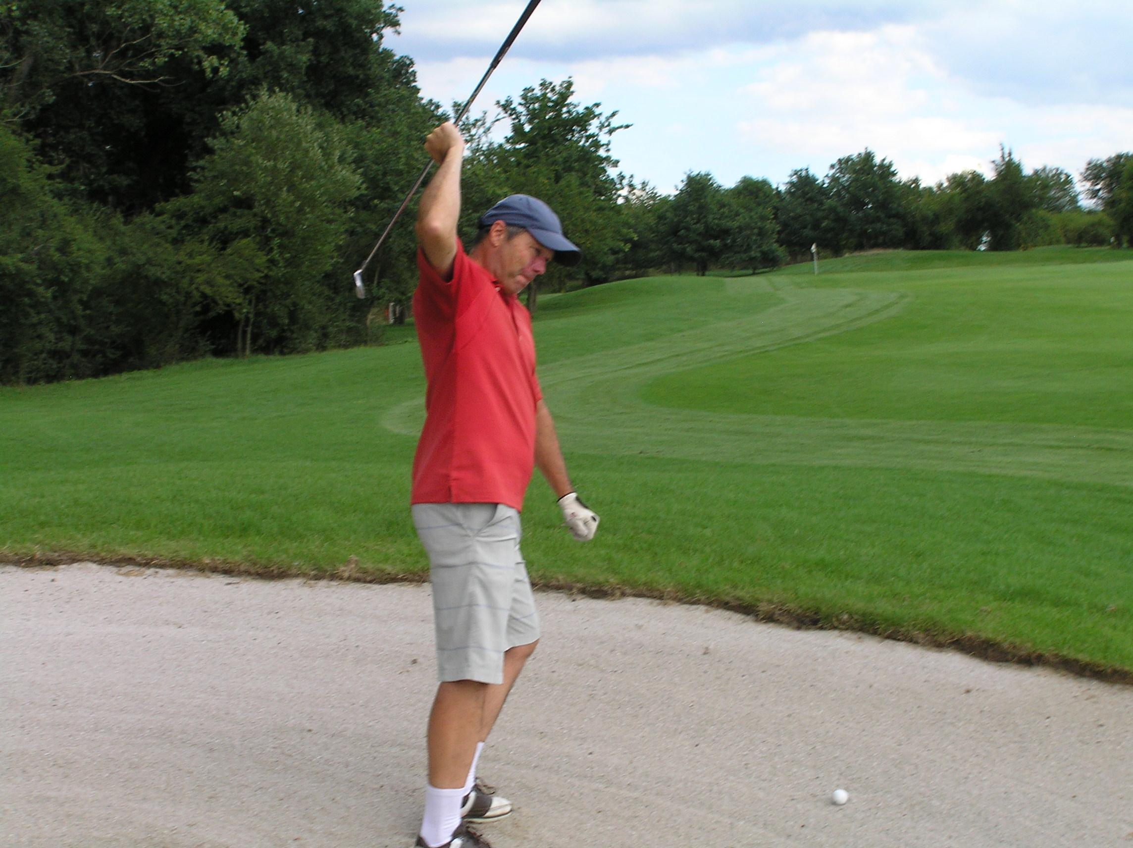 golfový odpal