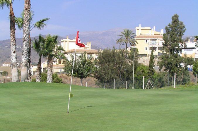golfová jamka